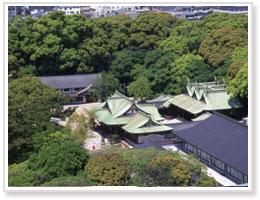 西宮神社の社叢 えびすの森