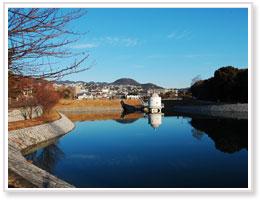 「火垂るの墓」に出てくる池のモデルとなったニテコ池