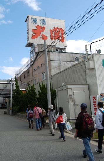 4. 大関本社へ徒歩で DSC_2002