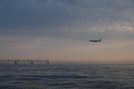 14.飛行機着陸 DSC_3088
