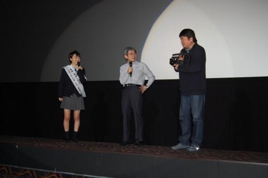 7.百田さん、平田さん、本広監督 DSC_2570