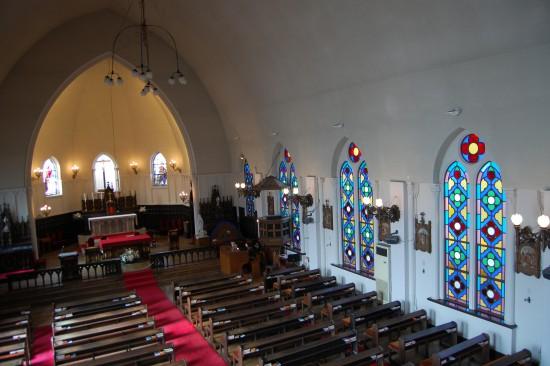 4.聖堂内部(2階から) DSC_7829