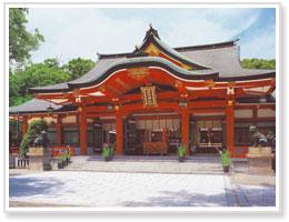 西宮神社 拝殿