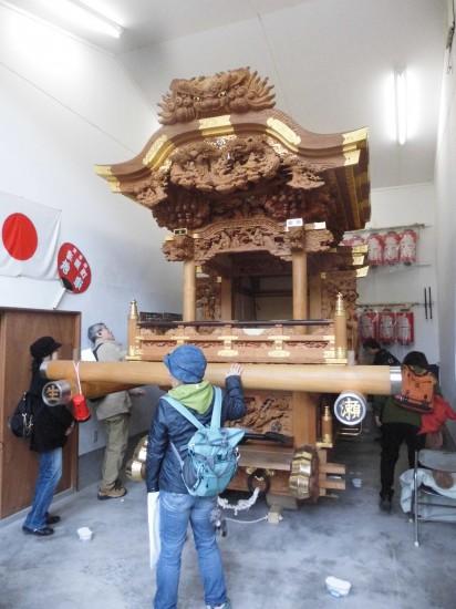 4.生瀬皇太神社(だんじり収蔵庫) CIMG7060