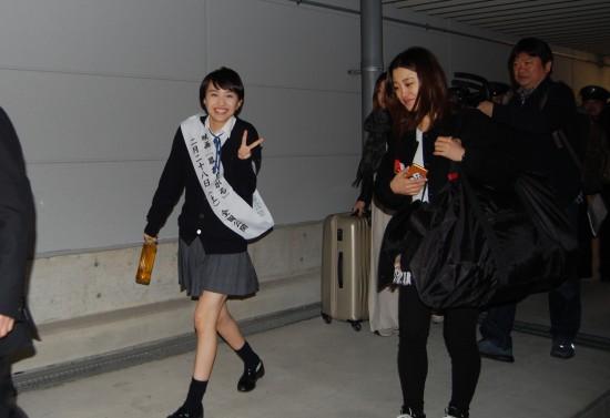 1.百田さん到着 DSC_2448