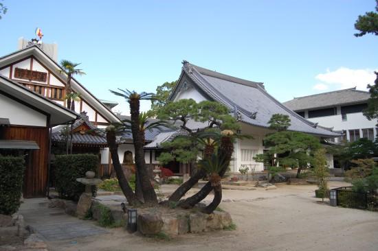 仏殿と庫裏 DSC_6556